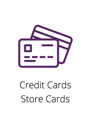 Credit Cards Store Cards